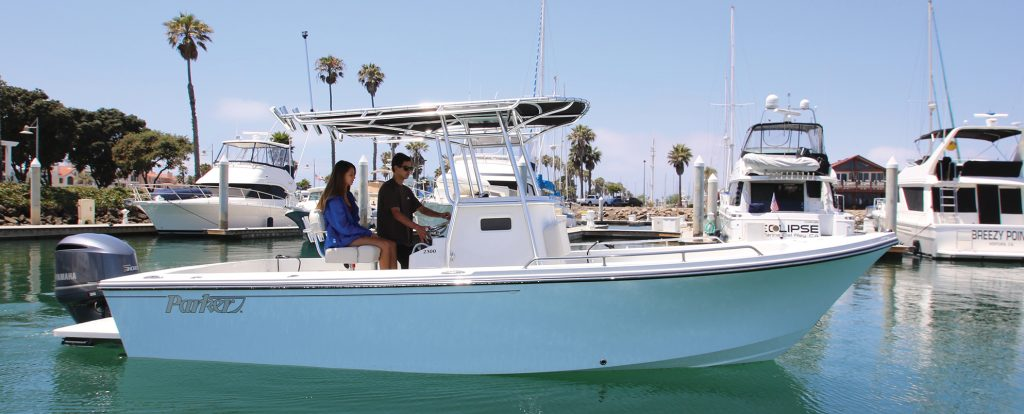 parker center console boats for sale